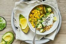 Whole Grain Brunch / Dive into a Whole Grain Brunch with delectable healthy recipes made with Attune Foods cereal and Bob's Red Mill products.