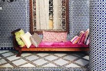 Bohemian Home / Eclectic, warm and vibrant. My bohemian love nest.