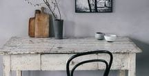 Rustic Retreat / Inspired by the outdoors and nature. Relax in your rustic retreat.