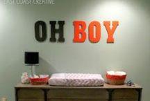BABY boys room!!! / by Kristin Harp Castens