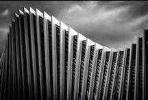 Architecture - BW photography  / Architettura ed elementi costruttivi