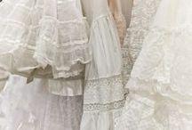 Embroidery, lace / hafty, koronki