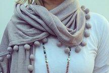 Scarves, shawls / szale, chusty