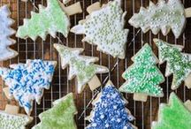 Holiday Cookie & Dessert Recipes / Christmas cookies, sparkly desserts, luscious candies, amazing cookies, and creamy confections!