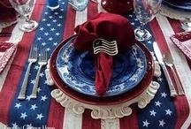 4th of July Decor & Food