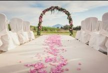 Tuscany wedding flowers my work / Stunning wedding florals arrangements for ceremony and reception