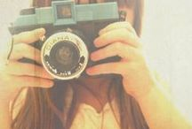 with my camera / by Merci Doll