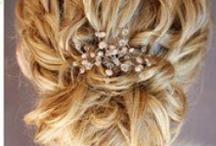 Bride's hair / inspirational ideas for bridal hair style