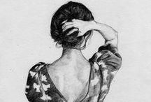 ilustraciones / <3 me rechiflan / by Merci Doll