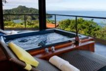 Ocean view, near the beach / Located on a hillside overlooking the Pacific Ocean, our #villas have spectacular #ocean #views.  www.4tulemar.com