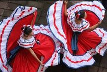Costa Rican Culture / The #culture of Costa Rica is one of the aspects that make it so charming to visitors.  Life is still somewhat simple and slow, full of colors and flavors to delight.  Happy music is played throughout the country and smiles are worn by almost everyone. :)