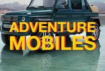 Adventuremobiles / Get where you're going with style and function. Campervans, trailers, SUVs, trucks, and more to help you get out and explore.