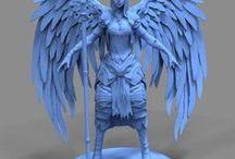 3D Character Concept Art