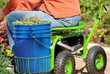 Easy Gardening When Ill / A lot of people with #chronic illness love to garden. But few can get down on their knees and dig for 3 hours with their hands. So you will some of the best tools we've found to make easy gardening an option again, whether it is a certain shovel or mat or maybe a gardener himself who you can just tell what to do (that would be me.) Have you tried any of these? Let us know if you can vouch for any of these easy gardening products.