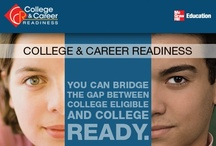 Get College & Career Ready / Programs, resources, and information to help high school, advanced placement, and early adult learners bridge the gap between college ready and career-bound.