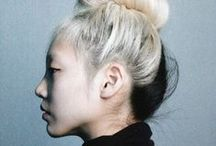 ode to the top knot / by Rachel Wooley