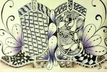 Zentangles/Drawing/Line Art