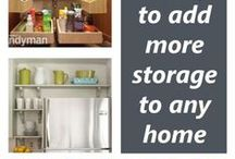 Home | Storage Solutions / by Alyna Briscoe