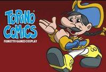 Torino Comics / Fumetto Games Cosplay | Pietro Miccia e tutte le locandine dal 1994