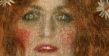 Gustav Klimt / Pittore austriaco, uno dei più rappresentativi artisti della secessione viennese.