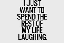 Laughter / Laughter is the closest distance between two people ~ Victor Borge