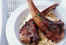 Lamb Recipes / Lamb Chops, Lamb Kabobs, Leg of Lamb