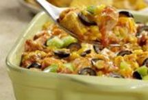 Casseroles / Everything baked, bubbly and delicious. Chicken casseroles, beef casseroles, lasagna recipes and more.