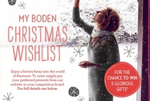 My Boden Christmas Wishlist / by Boden