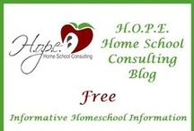 Blog Posts at H.O.P.E. Home School Consulting / by HOPE Home School Consulting