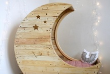 For the Dream Station / nursery, home decor, crib, kids room, baby room, lullaby / by Tala Tillery