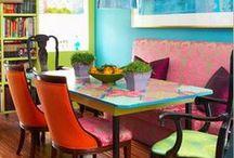 kolorful kitchen / by L u l u S c h w a l l