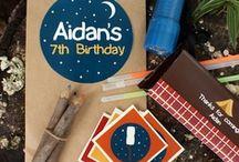 For the Parties, Little Ones | Children's Birthday Parties / kid party, birthday party, inspiration, creative, diy,