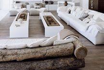 For the Love Nest, Familytime | Living Room / living room, family room, home decor, sofa, couch, leather, pillows,