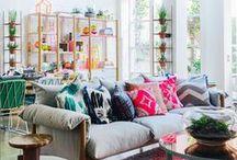 Living rooms // Salones / El salón es el espacio de la casa que une el resto, dónde se pasa la mayor parte del tiempo. Pues que sea maravilloso!