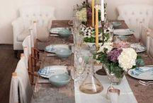 Table Deco // Decoración de Mesa / Mesas puestas y decoradas con encanto.