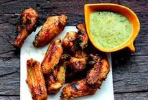 Chicken Wings / Chicken Wing Recipes and Ideas.  Grilled wings, baked wings, fried wings. I'm wingin it for wings.