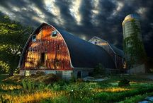 ♔  beautiful barns  ♔ / Beautiful barns from around the world.  / by angela axiarlis