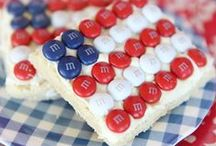 Patriotic Recipes / Recipes for your 4th of July celebrations.