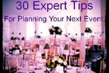 Event Planning Tips.......