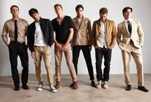 Men Wearing It / Look ideas for modern dudes. / by Diandra Fernandes