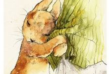 A: Pen and Ink / Watercolor / by Lou Traylor