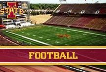 Football / Find more about the Cyclone Football team here: http://bit.ly/qN2O60 / by Iowa State Athletics