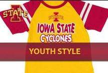 Youth Style / Visit Cy's Locker Room for official gameday gear! / by Iowa State Athletics