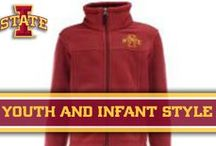 Youth/Infant Style / Visit Cy's Locker Room for official gameday gear! / by Iowa State Athletics