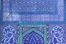 Blue and white / by Nannette Kramer