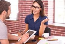 Profiles Job Interview Tips / Are you dreading the interview process? Have no fear, Profiles is here! Read up on helpful advice, and make a winning first impression. / by Profiles