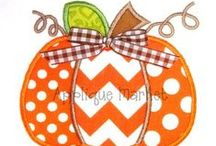 Embroidery Designs - Fall / by Candi Meadows