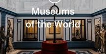Museums of the World / Incredible places of culture and history around the world. [If you're a co-pinner to this board please do not pin more than 3 times a day, be sure to note the location of the museum depicted in your pin, and ideally what makes it good  for the traveller.]