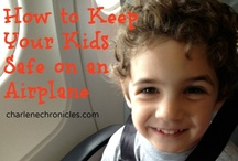 Tikes and Tot Travel / TIps and tricks for traveling with kids. / by Charlene {Charlene Chronicles}