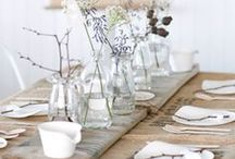 Mesas/ table setting